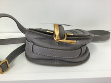 Load image into Gallery viewer, CHLOE 'MARCIE' SMALL GREY LEATHER CROSSBODY BAG