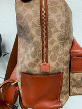 Load image into Gallery viewer, Coach Campus Backpack 23 In Signature Canvas