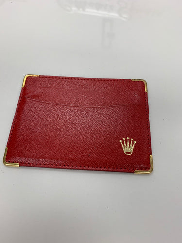 Rolex Credit Card Wallet