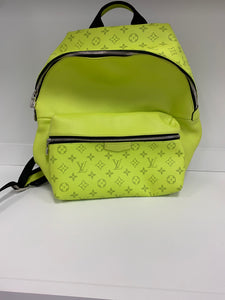 Louis Vuitton Discovery Backpack Monogram Bahia PM Yellow