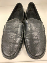 Load image into Gallery viewer, Gucci Signature Driver black  loafers size 12US