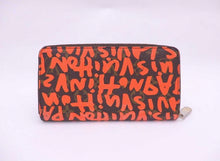 Load image into Gallery viewer, LOUIS VUITTON -Monogram Graffiti Zippy Wallet