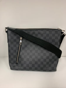 LOUIS VUITTON Crossbody Bag Damier Graphite Mick MM