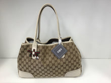 Load image into Gallery viewer, GUCCI BEIGE MONOGRAM PRINCY TOTE