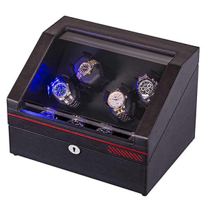 JINS&VICO 4+4 leather watch winder-main