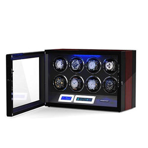 JINS&VICO 8+0 wooden watch winder-open