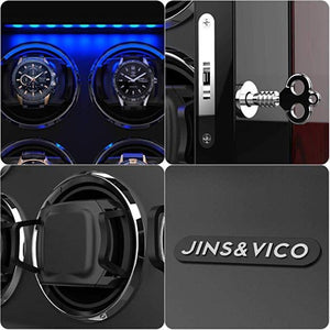 JINS&VICO 8+0 wooden watch winder-details