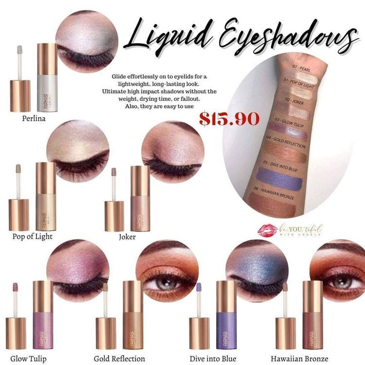 Farmasi Liquid Eyeshadows