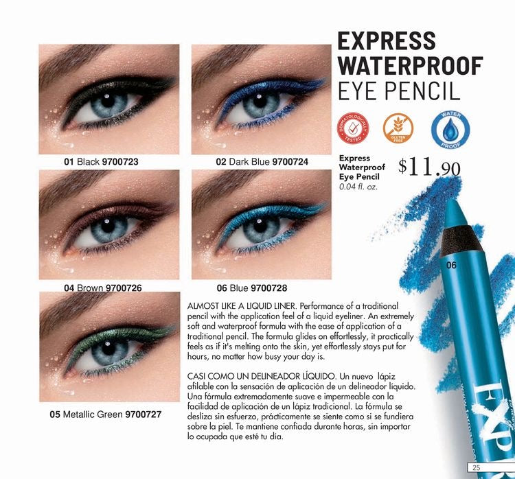 Farmasi Express Waterproof Eye Pencil