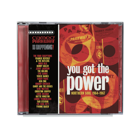 You Got the Power – Cameo Parkway Northern Soul CD
