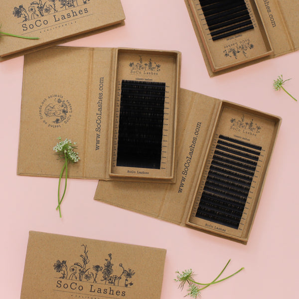 classic eyelash extensions from SoCo Lashes