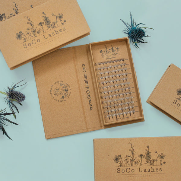 premande fans for eyelash extensions from SoCo Lashes