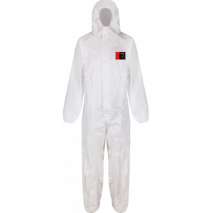 Traega DBX 300 Cat III Type 5/6 Anti-Static Disposable Microporous Coverall - Various Sizes - White