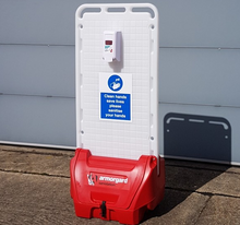 Load image into Gallery viewer, Armorguard Sanistation S20 Free Standing Mobile Hand Sanitising Unit