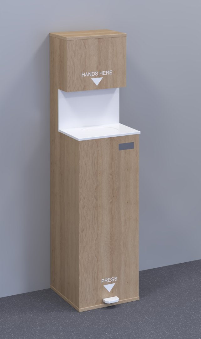 RapidSan Premier Hand Sanitiser Dispensing Station