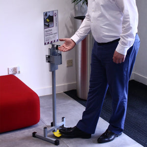 Pacplan Foot Operated Sanitiser Dispenser