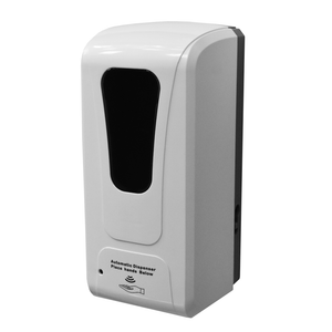Heavy Duty Wall Mounted Infra-Red Automatic Dispenser - 1000ml capacity for Gel or Foam