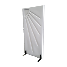 Load image into Gallery viewer, Antiseptic Freestanding Partition - 1000x2000mm - White