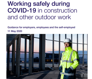 UK Government Construction Industry Guide to Safe Working