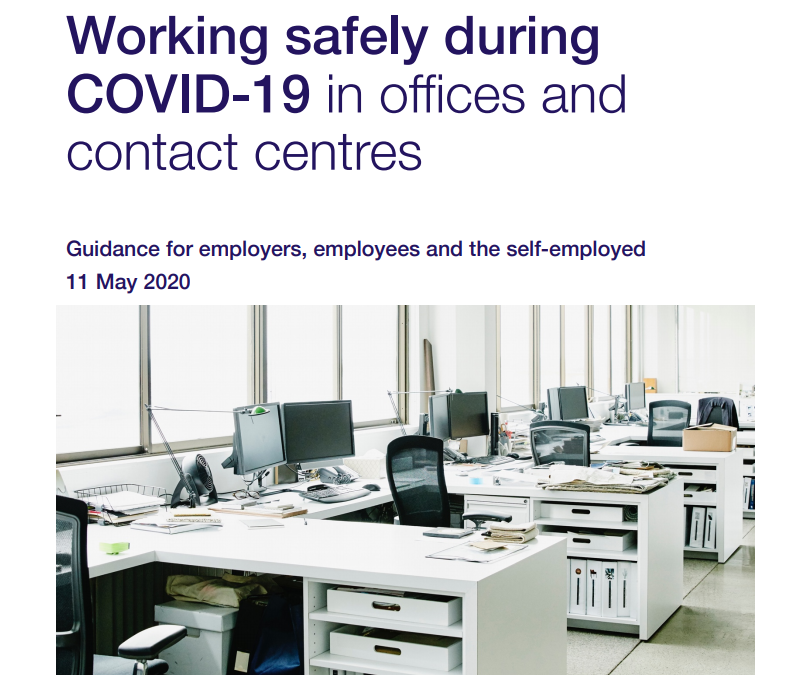 UK Government Offices Guide to Safe Working