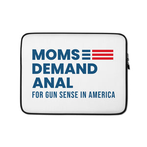 Open image in slideshow, Moms Demand Anal Laptop Case