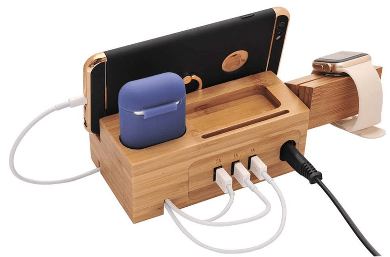 WOOD THINK CHARGE STATION