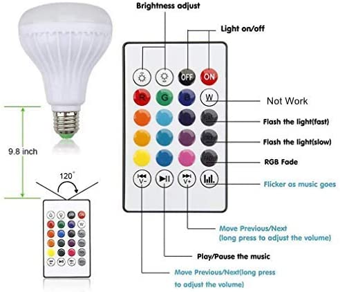 Bluetooth Speaker Lightbulb