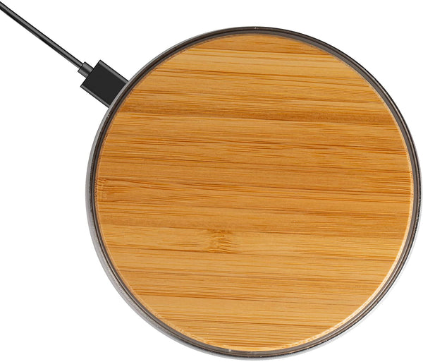 Bamboo Universal Wireless Charger For iPhone X 8 Plus Note 8 S7