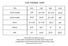 Load image into Gallery viewer, Yuki Thermal Shirt