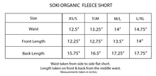 Load image into Gallery viewer, Soki Organic Fleece Short