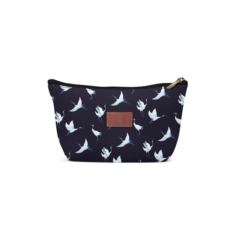 Trousse - Crane Birds Dark