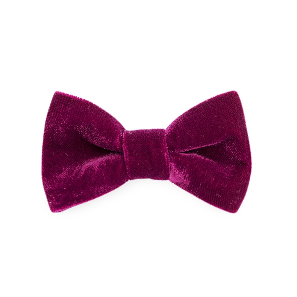 Noeud papillon - Velvet Red