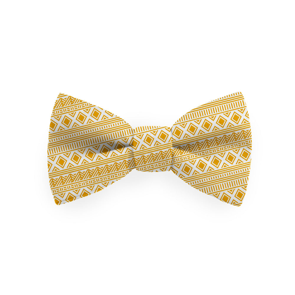 Noeud papillon - Yellow Ethnic