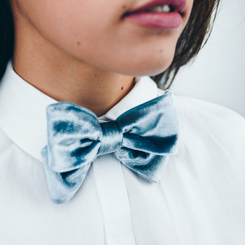 Bow tie - Emily - Silver