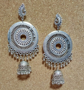 Earrings - Silver Dangling Design [SoldOut]