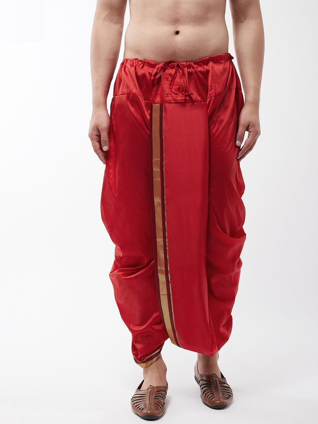 [Available] Maroon Dhoti Pants