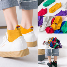 Load image into Gallery viewer, Emoji Socks 4 Pairs/Pack