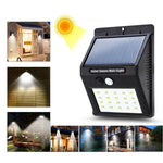 LED Outdoor Solar Lamps