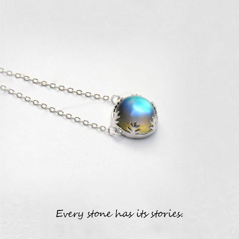 HW Aurora Moonstone Necklace