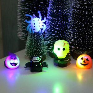 5 Different Halloween Party Glitter Rings