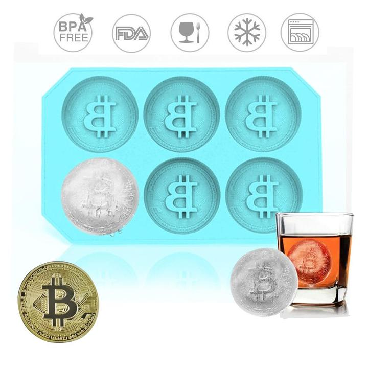 Silicone Ice Bitcoin Tray