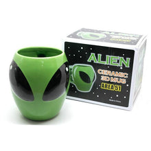 Load image into Gallery viewer, Alien Face Mug