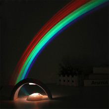 Load image into Gallery viewer, Rainbow Night Light Projector
