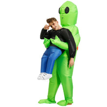 Load image into Gallery viewer, Inflatable Alien Costume