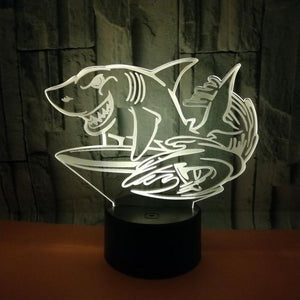 Shark Hologram Light