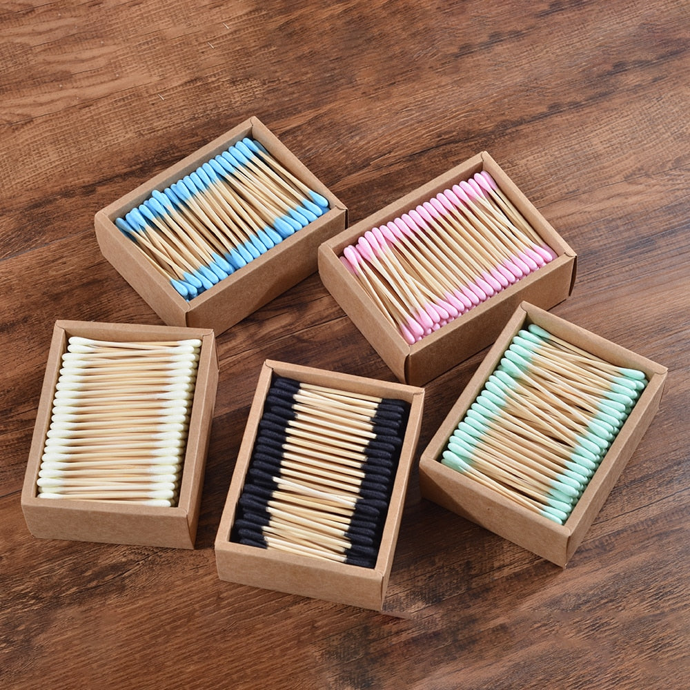 Eco Friendly Bamboo Cotton Buds - Paradigm Integrative