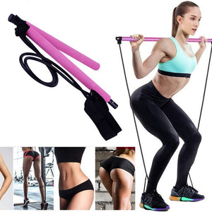 Resistance Band Bar Kit - Toffeey