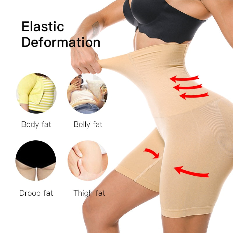 Women High Waist Slimming - Toffeey