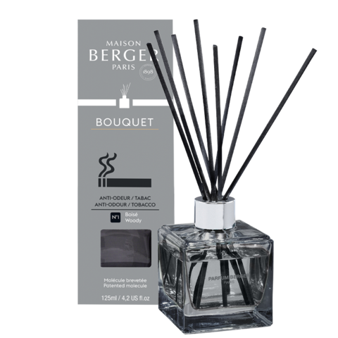 ANTI-ODOUR CUBE REED DIFFUSER ANTI-TOBACCO 1  (WOODSY)