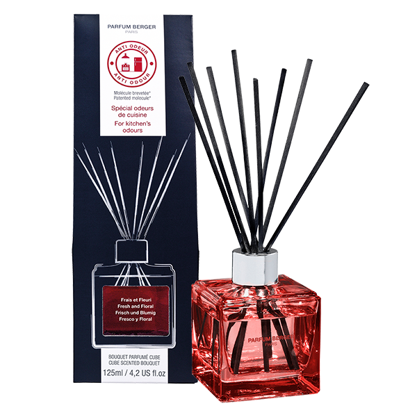 ANTI-ODOUR CUBE REED DIFFUSER KITCHEN 1 (FRESH & FLORAL)